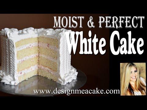 Moist White Cake Recipe Masterclass