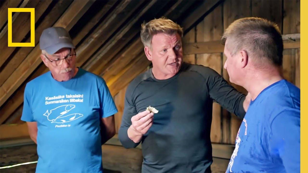 Gordon Cooks Whitefish | Gordon Ramsay: Uncharted
