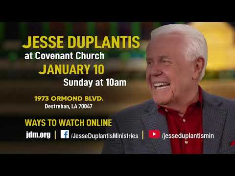 Jesse Duplantis at Covenant Church