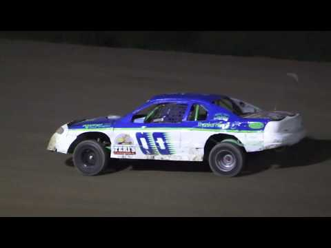 B Feature 2 (12 Laps): 2-Mike Coble, 8-Andy Traxler, 00-Alex Richards, 26-Dillon Kohn, 82-Scott Pickard, (DNS) 60-James McKeown - dirt track racing video image