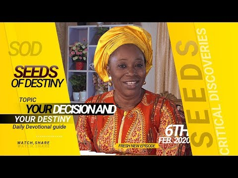 Dr Becky Paul-Enenche - SEEDS OF DESTINY - THURSDAY 6TH FEBRUARY, 2020