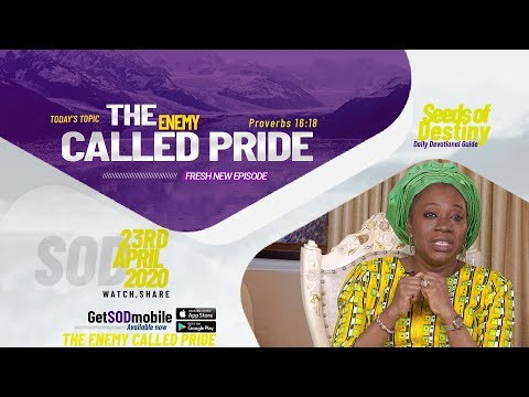 Dr Becky Paul-Enenche - SEEDS OF DESTINY - THURSDAY, 23RD APRIL, 2020