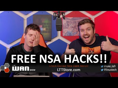 The NSA is Giving Out It's Hacks for Free! - WAN Show Jan 17, 2020 - UCXuqSBlHAE6Xw-yeJA0Tunw