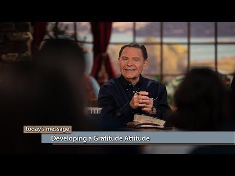 Developing a Gratitude Attitude