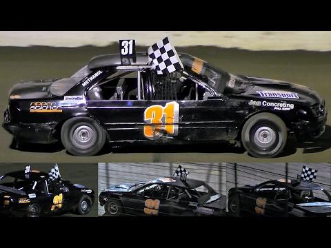 Marsh Mods Final Simpson Speedway 18-2-2017 - dirt track racing video image