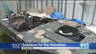 Stockton Searching For Solutions For The Homeless