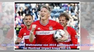 VIDEO: MLS: Bastian Schweinsteiger und Chicago Fire unterliegen Montreal