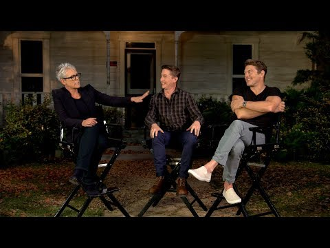 'Halloween' | Unscripted | Jamie Lee Curtis, David Gordon Green, Jason Blum - UCE8aa83wFg-VE1zcaVCZdIA