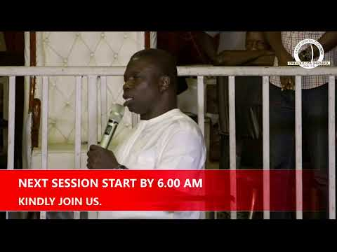 FIRST ANNUAL 7 DAYS MARATHON FASTING & PRAYER  DAY 5 - VIGIL 22ND JANUARY, 2021