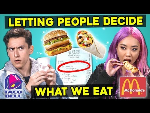 Letting The People In Front of Us Decide What We Eat   Guess That Generation