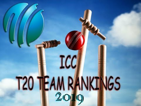 ICC T20 Team Rankings 2019
