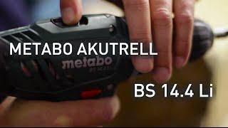 Metabo BS 14.4 Li Akutrell