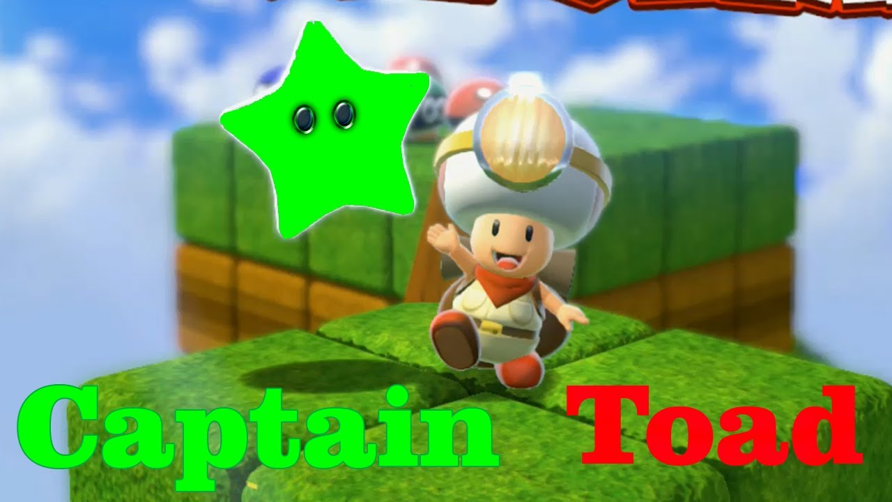 Super Mario 3D World - All Captain Toad Levels (Full Guide
