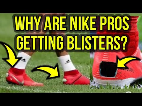 DO NIKE FOOTBALL BOOTS GIVE YOU BLISTERS? - SERGIO RAMOS CUTS HOLES IN HIS BOOTS! - UCUU3lMXc6iDrQw4eZen8COQ