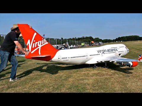 [Video]:  Dünyanın En Büyük RC Modellerinden BOEING 747-400