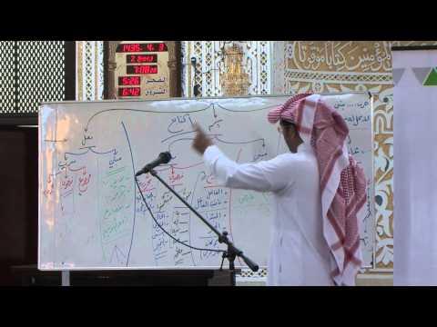 دورة: المدخل إلى اللغة العربية | أ.د. محمد العمري | المجلس الرابع