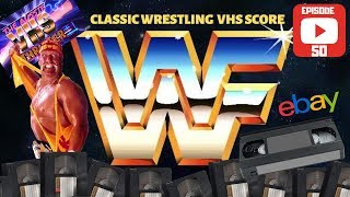 rare WWF WWE wrestling CLASSIC VHS video collection SCORE FOUND THRIFTING