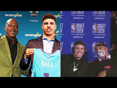 LaMelo Ball Drafted By Hornets In 2020 NBA Draft!