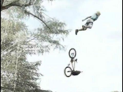 Dylan Pemberton's sky dive off bmx ramp into the lake - default