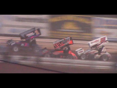 The 410 Sprint Car Feature Event from Selinsgrove Speedway. - dirt track racing video image