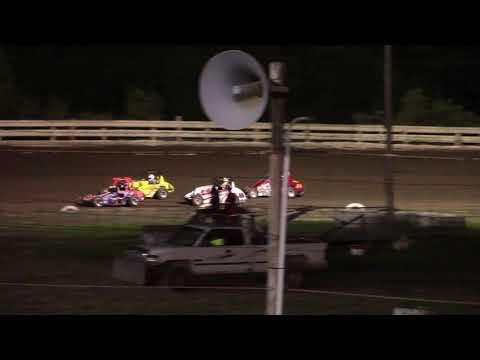 Feature Results:  1st) #85 Randy White 2nd) #8G Garrett Davenport 3rd) #44 Ava Adamik 4th) #40D Jaxon Dye DNF) #58 Logen Lockhart DNF) #3 Elijah Boor DNF) #20 Colten McAndrew - dirt track racing video image