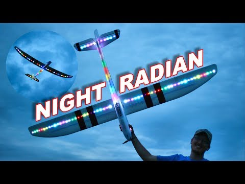 INCREDIBLY Huge RC Plane w/ Awesome Lights - Night Radian FT 2m wingspan - TheRcSaylors - UCYWhRC3xtD_acDIZdr53huA