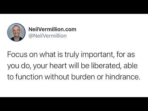 Ignore That Which Is Unimportant - Daily Prophetic Word