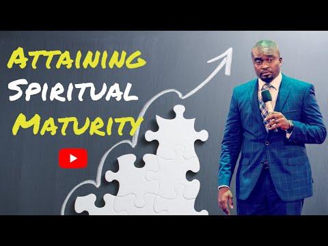 THE SCHOOL OF TYRANNUS  ATTAINING SPIRITUAL MATURITY  DAVID OYEDEPO JNR