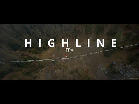 150m HIGHLINE - Tomáš Staněk (FPV 4K)
