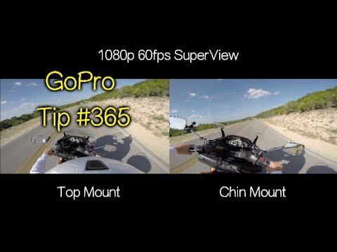 GoPro Helmet Mount: Top vs Chin Comparison - GoPro Tip #365 - UCTs-d2DgyuJVRICivxe2Ktg