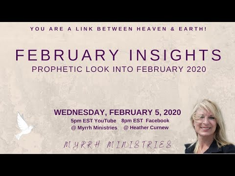 Merging God's Big Prophetic Picture For 2020 WITH Prophetic Word For Feb.