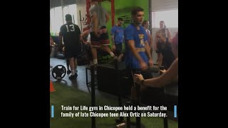 Local gym raises money for family of late Chicopee teen at workout class