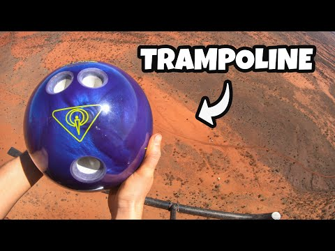 BOWLING BALL Vs. TRAMPOLINE from 1000 FEET! - UC5f5IV0Bf79YLp_p9nfInRA