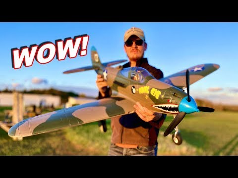 Smart RC Plane - RC Warbird P-39 Airacobra with Safe Technology - TheRcSaylors - UCYWhRC3xtD_acDIZdr53huA