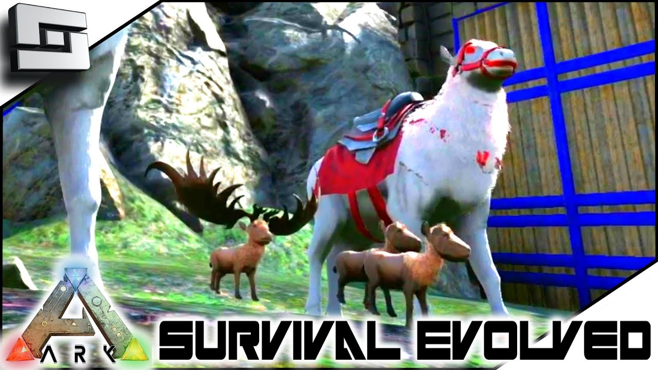 ARK: Survival Evolved   MEGALOCEROS CHRISTMAS MIRACLE! S2E108( Gameplay ) |  AudioMania.lt