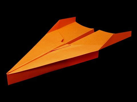 How to make a paper airplane that flies far (~50 meters) - BEST paper planes in the world . Jakov - UCuwq56vKPJhp0wEpTDzwFNg