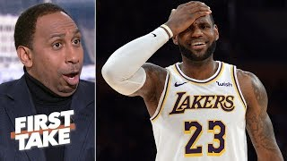 'This is what drives me crazy!' – Stephen A. on newfound information on LeBron's injury   First Take