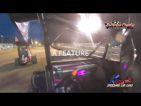 #9 Abigayle Lett - Restrictor - 7-17-2021 Jefferson County Speedway - In Car Camera - dirt track racing video image