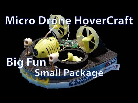 Micro Drone Hovercraft Kit - Full Review - UC47hngH_PCg0vTn3WpZPdtg