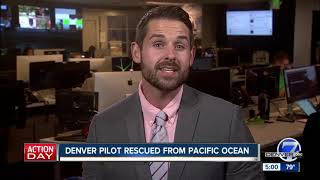 Denver man rescued from Pacific Ocean after plane crash