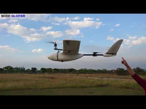 Test Flying Nimbus VTOL Standard Version Auto Antenna Tracker | mdp lt
