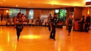 BIDA Solo Cha Cha Group Class Show