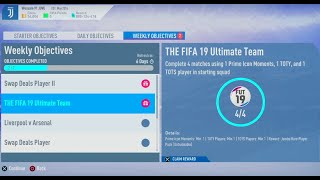 FIFA 19- Ultimate Team: Weekly Objectives (The FIFA 19 Ultimate Team) Reward #1158