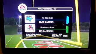 NCAA Football 2004 is Middle Tennessee State Blue Raiders And Mississippi Valley State Delta Devils