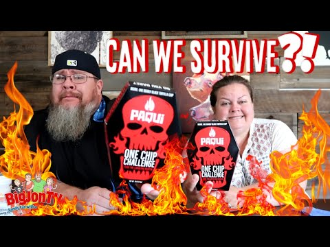 World's Hottest Chip    Paqui One Chip Challenge    Monday Funday
