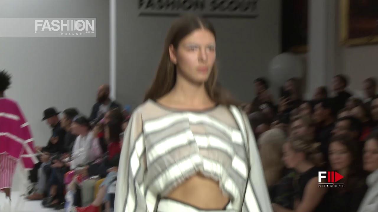 ONES TO WATCH - JI WON CHOI Spring Summer 2018 London - Fashion Channel