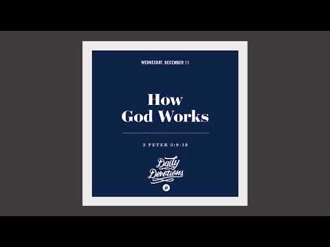 How God Works - Daily Devotion
