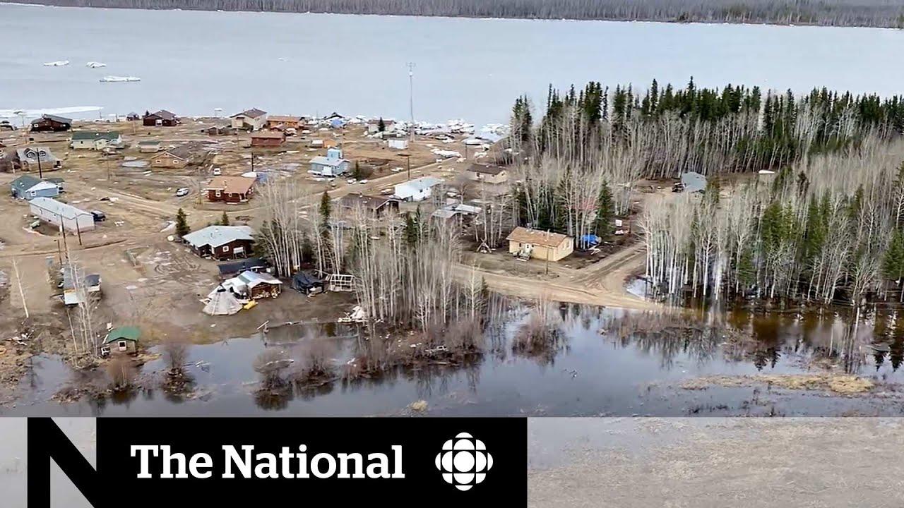 Spring flooding devastates small community in N.W.T.