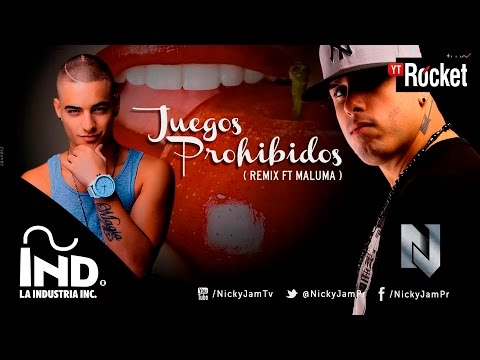 Nicky Jam - Juegos Prohibidos ( remix ft Maluma ) Oficial Con Letra @NickyJamPr @MalumaColombia - UCpb_iJuhFe8V6rQdbNqfAlQ
