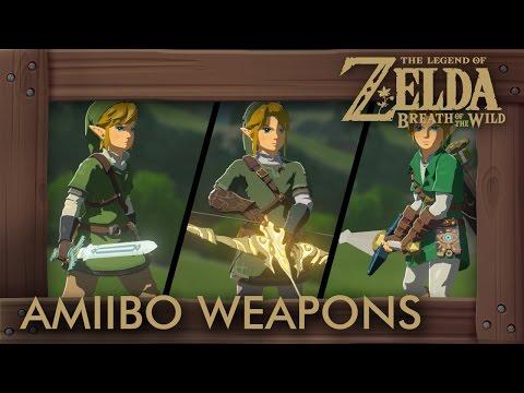 Zelda Breath of the Wild - All Amiibo Weapons - default